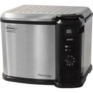 Masterbuilt Butterball Indoor Gen III Electric Fryer Cooker Extra Large Capacity Deep Fryer